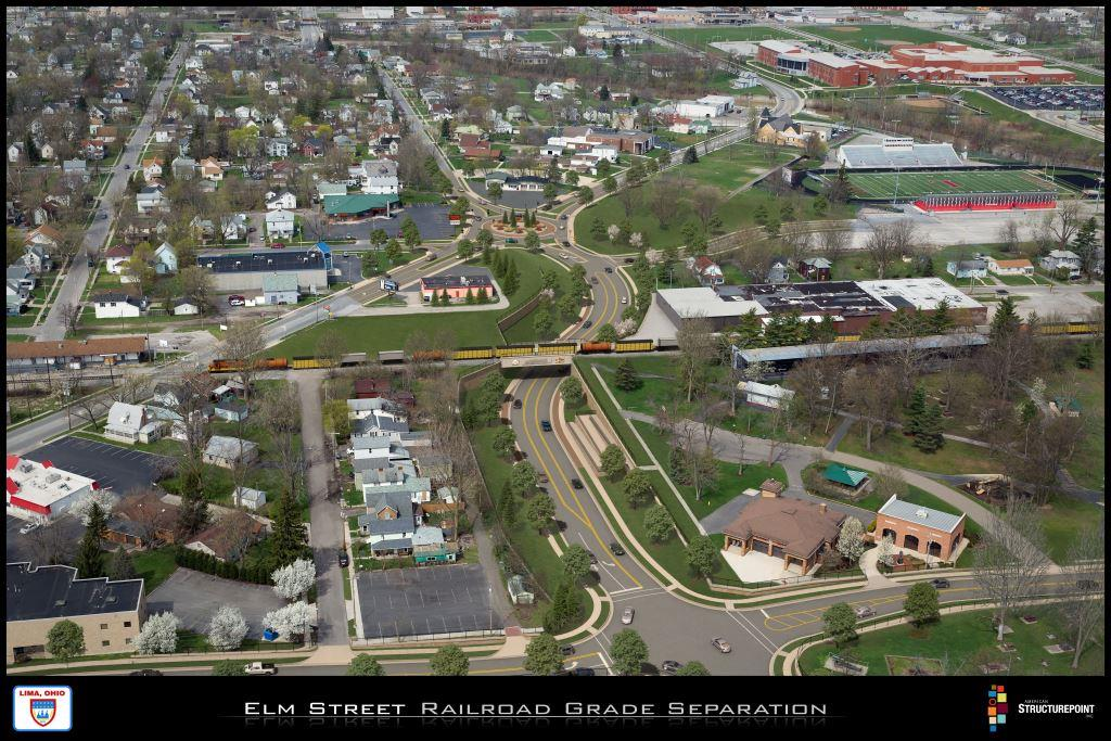 Elm Street Railroad Grade Separation Project