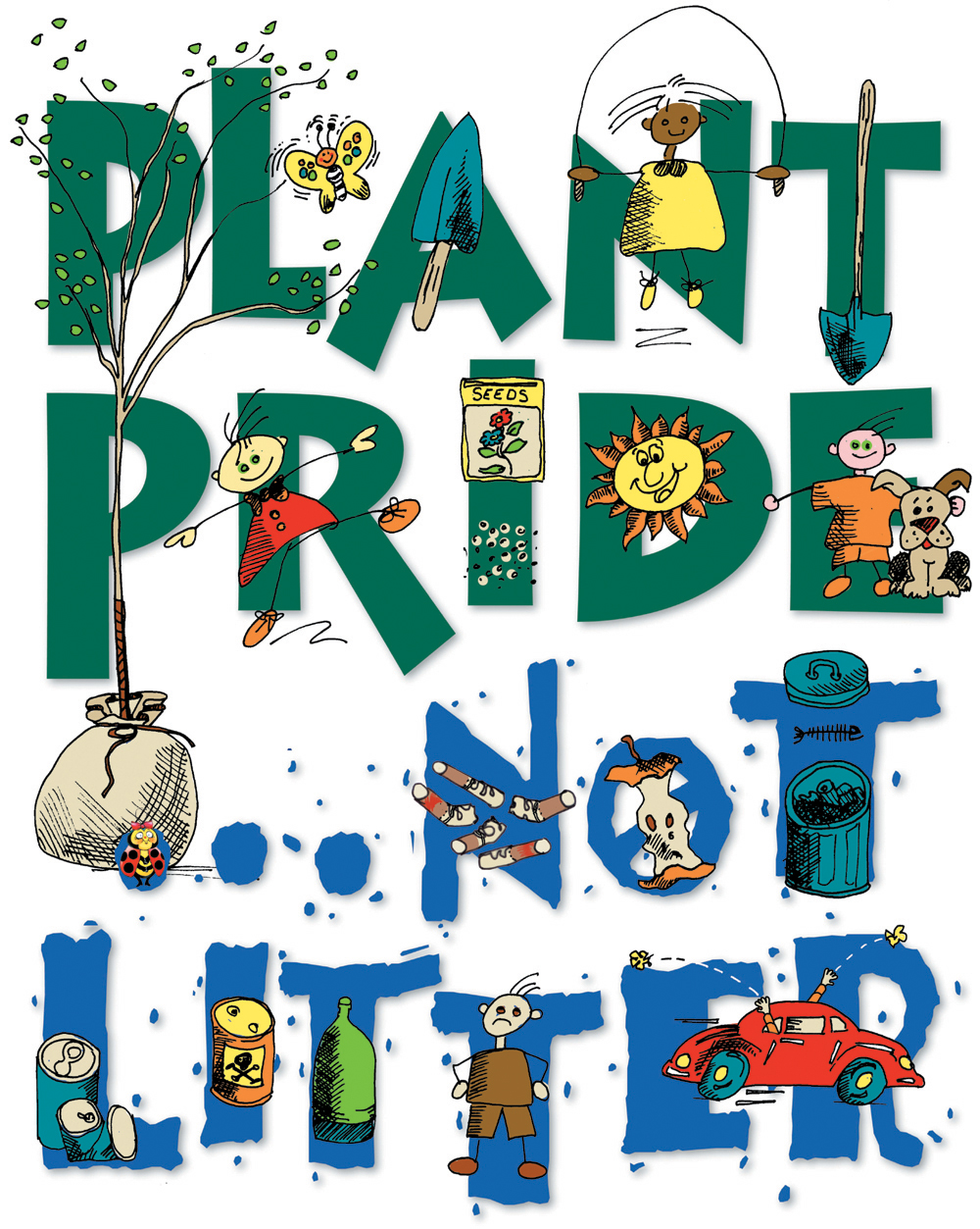 Plant pride, not litter Opens in new window